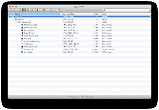 Folder Setup