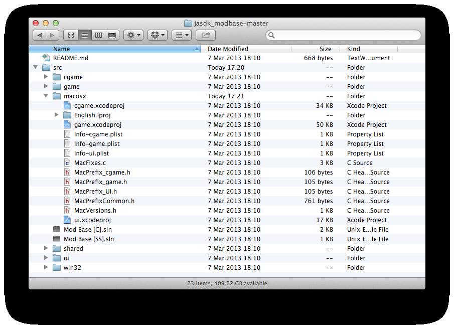 SDK folder